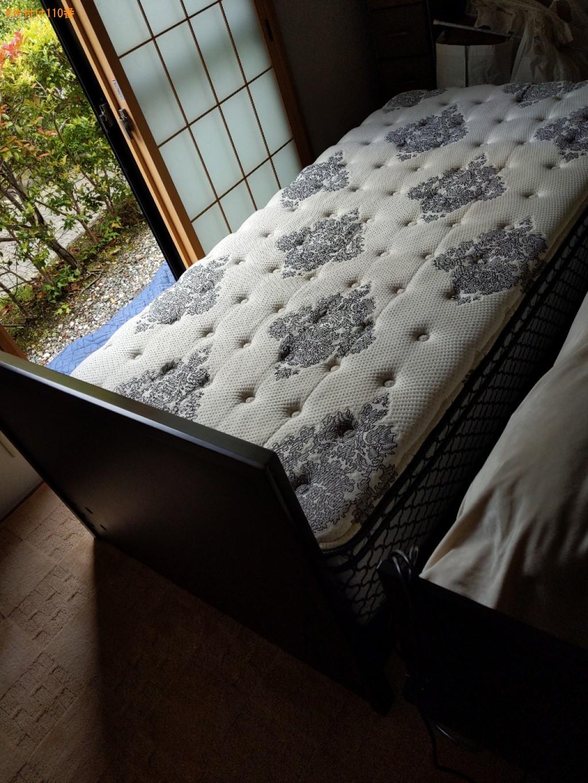 【奈良市】マットレス付きシングルベッドの回収・処分ご依頼