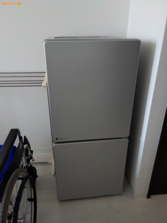【奈良市】冷蔵庫、二人掛けソファー、婚礼ダンス等の回収・処分