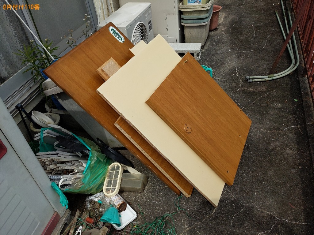 【生駒市東生駒月見町】学習机の回収・処分ご依頼 お客様の声