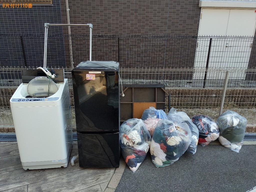 【大和郡山市】冷蔵庫、洗濯機、電子レンジ、一般ごみ等の回収・処分