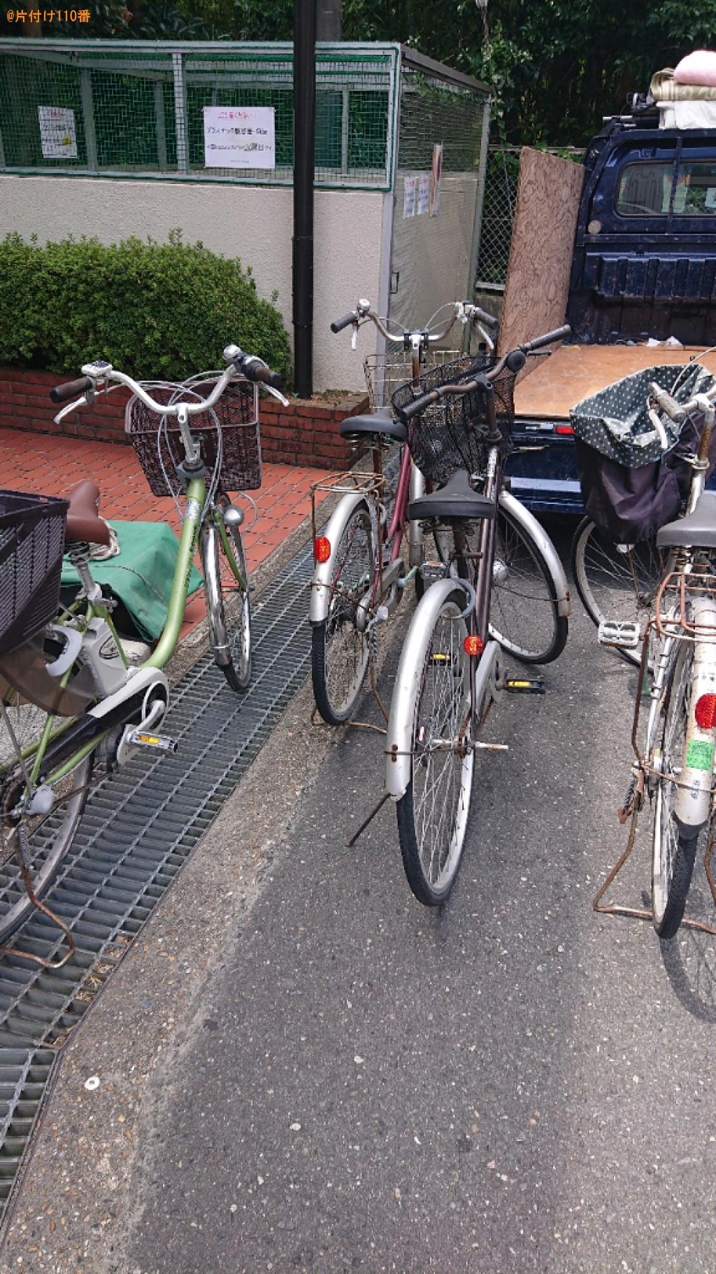 【奈良市】自転車の回収・処分ご依頼 お客様の声