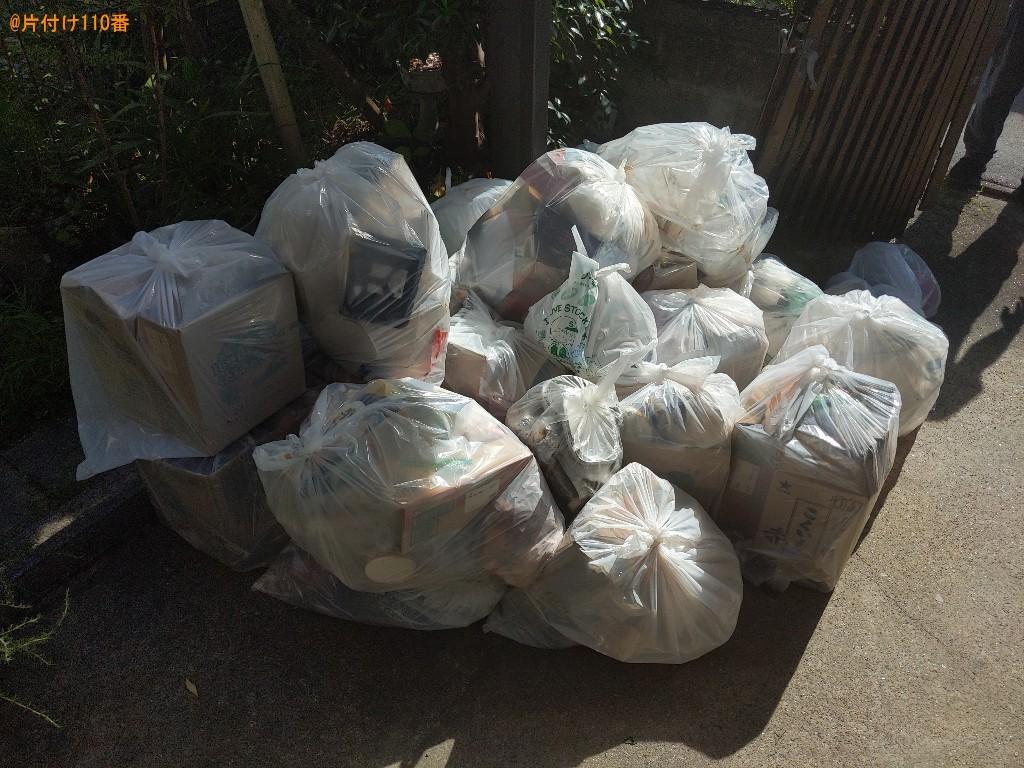 【奈良市山陵町】一般ごみの回収・処分ご依頼 お客様の声
