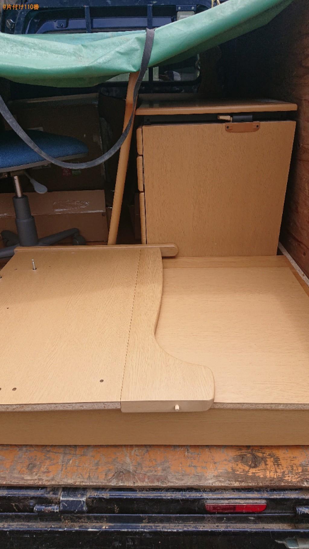 【生駒市】椅子、学習机の回収・処分ご依頼 お客様の声