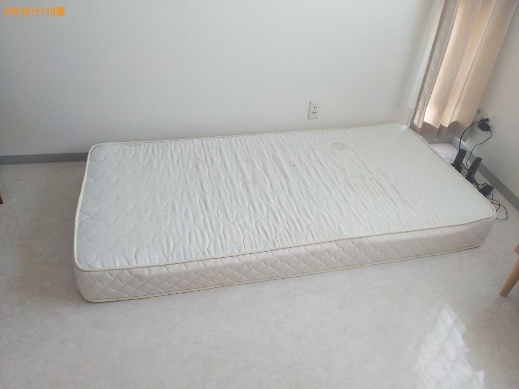 【奈良市油阪町】シングルベッドマットレスの回収・処分ご依頼
