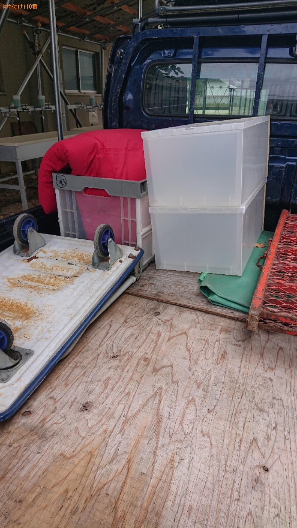 【奈良市北魚屋西町】パソコン、布団、衣装ケースの回収・処分ご依頼